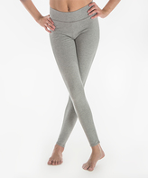Me Moi Medium Gray Heathered Leggings
