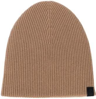 Rag & Bone logo knitted beanie hat