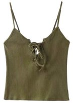 Kinghard® Kinghard Women Knitted Crop Tops Casual Cotton Cami Tank Tops (S, )