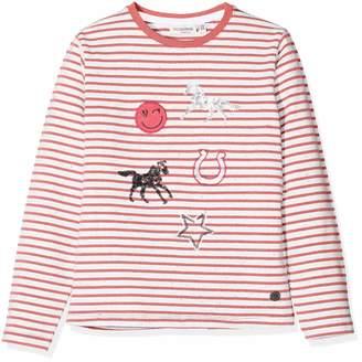 Salt&Pepper Salt and Pepper Girl's Longsleeve Horses II Stripes T-Shirt