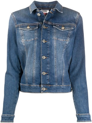 Tommy Jeans Fitted Denim Jacket