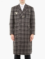 "Thom Browne WIDE SHOULDER DB CHESTERFIELD O/C (46"") IN PHASE 2"