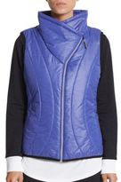 Asymmetrical Quilted Puffer Vest