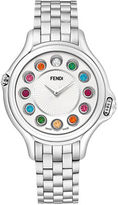Fendi Ladies Crazy Carats Large 38 mm Stainless Steel Watch