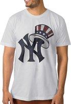 Tqlah Men Baseball 2016 NYY New York Yankees Logo T-shirt