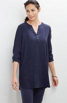 J. Jill Pure Jill Tencel®-Stretch Textured Tunic