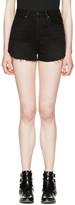 Frame Black Le Original Tulip Shorts