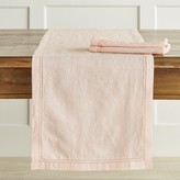 Williams-Sonoma Linen Double Hemstitch Table Runner