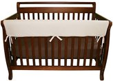 Trend Lab CribWrap Convertible Crib Long Rail Cover- Natural