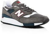 New Balance MiUSA 998 Lace Up Sneakers