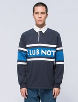 "Parra ""Club Not"" Heavy Rugby Shirt"