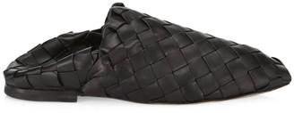 Bottega Veneta Intrecciato Leather Slip-On Loafers