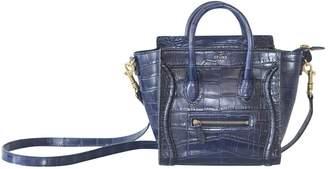 Celine Luggage Blue Exotic leathers Handbags