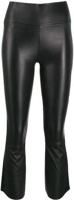 Sprwmn Cropped Slim-Fit Leggings