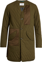 Oamc Lightly padded quilted cotton coat