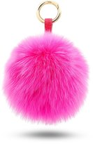 BELK Authentic Mink Furry Pom Pom Ball For Car Keychain & Bag Purse Charm