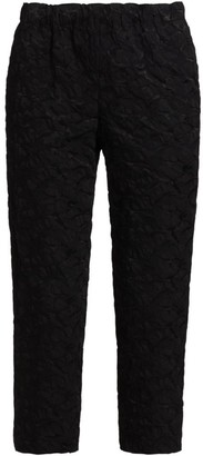 Comme des Garcons Textured Pull-On Cropped Pants