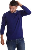 Clothing Men jumpers Marina Yachting YMM9000450-C0394 Jumper Man Blue Blue YMM9000450-C0394 Jumper Man Blue Blue