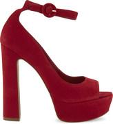 Aldo Rocha suede heeled sandals