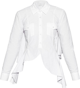 Marques Almeida MARQUES'ALMEIDA Open-back ruffled shirt