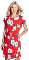 Yumi Red Floral Print 'Daya' Dress
