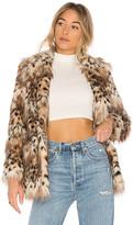 Majorelle Faux Fur Stella Coat