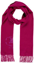 Burberry Fringed Cashmere Scarf