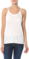SALE Chaser Linen Jersey Double Strap Cami Tank