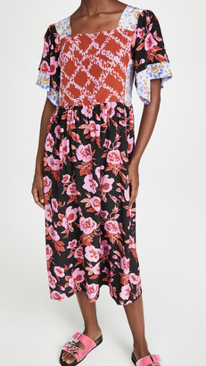 NO.6 STORE Yves Patchwork Dress