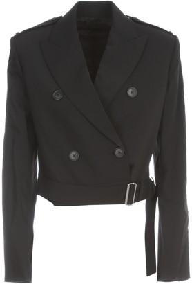 Helmut Lang Wool Cropped Jacket