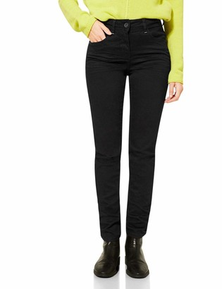 Cecil Women's 373629 Style Toronto Slim Fit High Waist Jeans