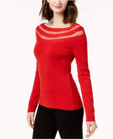 INC International Concepts I.n.c. Illusion-Stripe Sweater, Created for Macy's