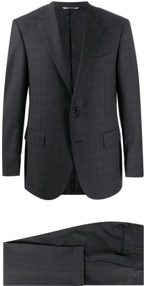 Canali Slim-Fit Check Suit
