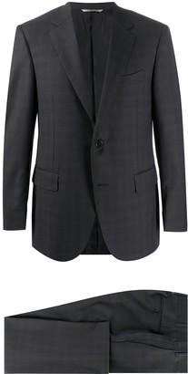 Canali Slim-Fit Check Suit