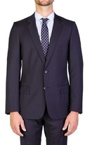 Christian Dior Men's Virgin Wool Two-button Suit Navy Blue.