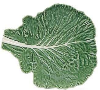 Bordallo Pinheiro - Cabbage Earthenware Platter - Green