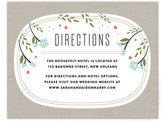 Minted Garden Frame Directions Cards