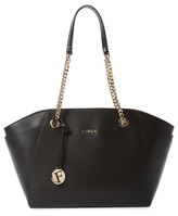 Furla Julia Medium Leather Tote