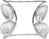 Maison Margiela Silver Crystal Cuff