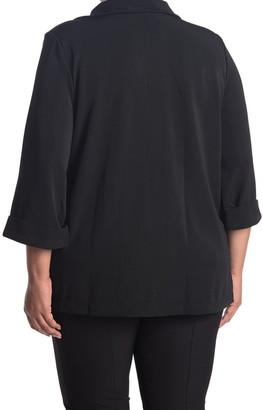 Grace Elements 3/4 Cuffed Sleeve Button Jacket
