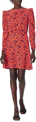 Joie Celyn Floral Silk Mini Dress