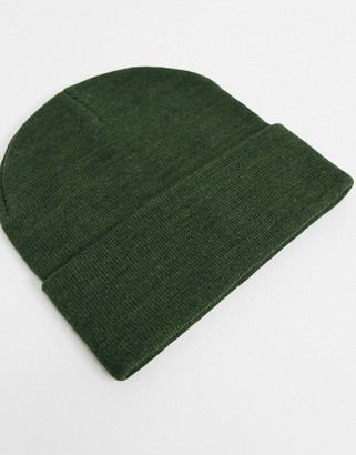 Pieces beanie in khaki
