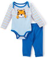 Buster Brown Blue Tiger Bodysuit & Joggers - Infant