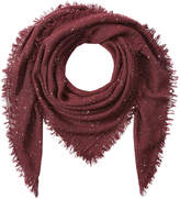 Faliero Sarti Scarf with Virgin Wool, Silk and Cashmere