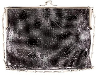 Paco Rabanne Pixel 1969 Medium Chainmail Shoulder Bag - Navy