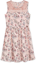 GUESS Sequin Floral Dress, Big Girls (7-16)