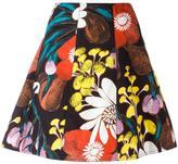 Marni Madder print skirt - women - Cotton/Linen/Flax - 38