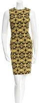 Versace Printed Knee-Length Dress
