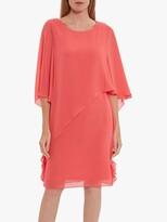 Thumbnail for your product : Gina Bacconi Lariah Chiffon Overlay Shift Dress