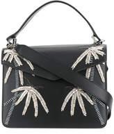 Les Petits Joueurs crystal embellished shoulder bag